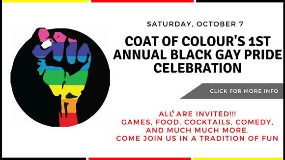 Black Gay Pride October 7