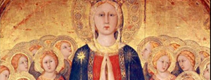 Mater Ecclesiae mosaic at Saint John Paul II Seminary